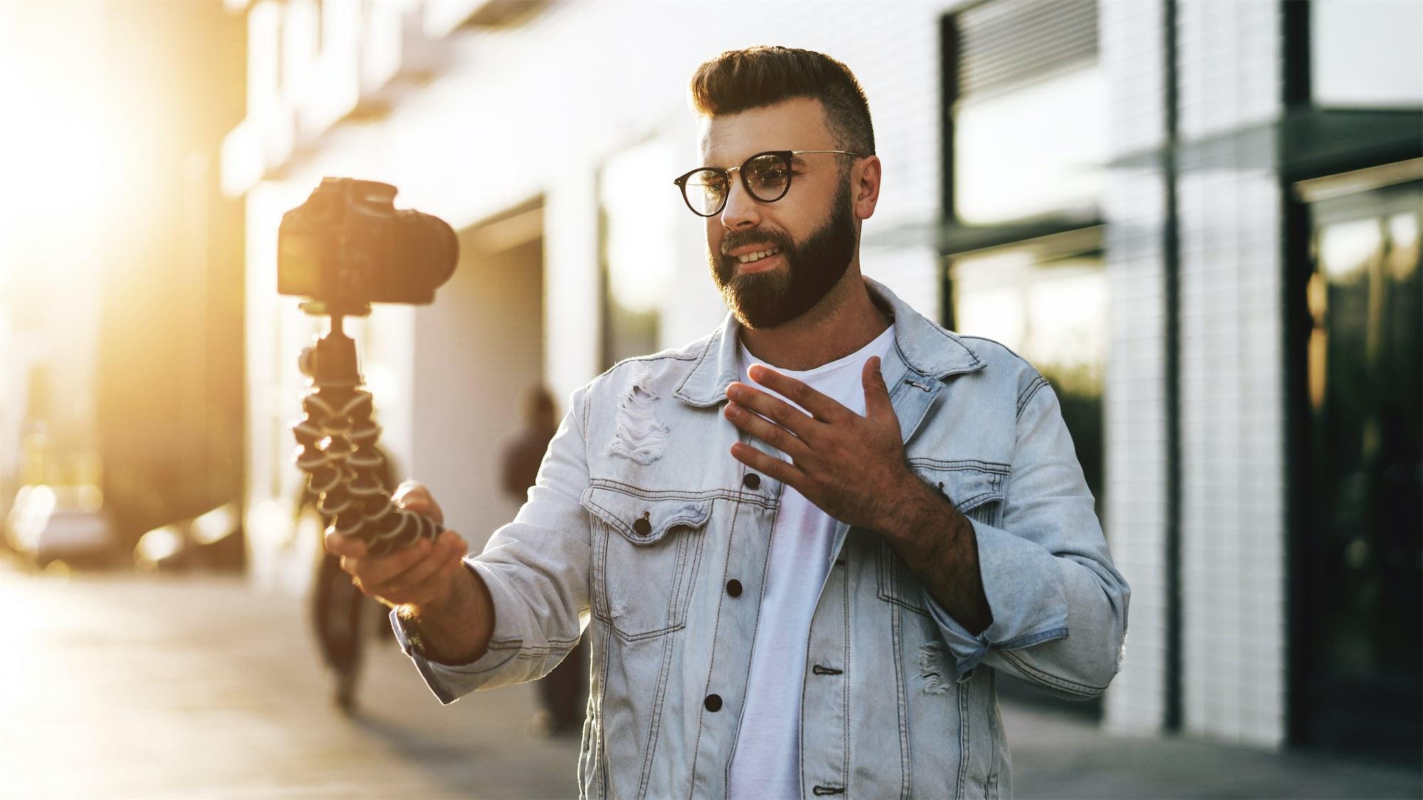 Self video recording